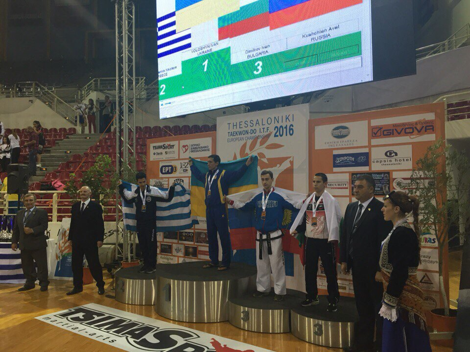 Харьковский патрульный Гречишников стал чемпионом Европы по тхэквондо - Цензор.НЕТ 9279
