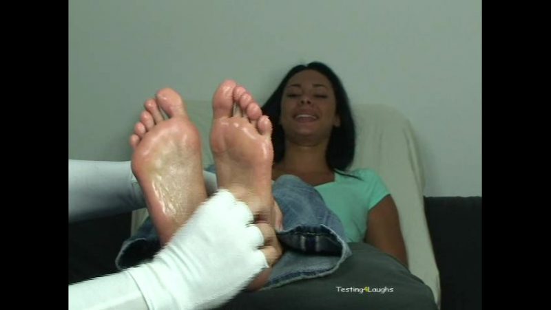 Testing4Laughs - Danica Baby Oiled