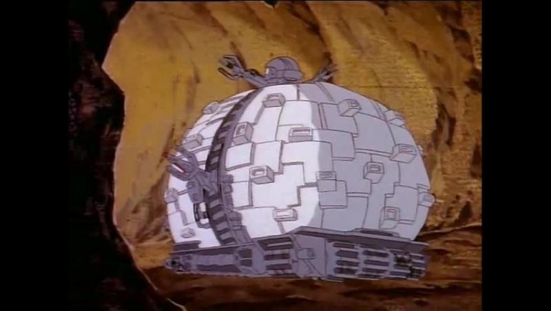 Черепашки Мутанты Ниндзя 1 Сезон 4 Серия «Жители измерения «Икс» появляются на Земле» (1987)