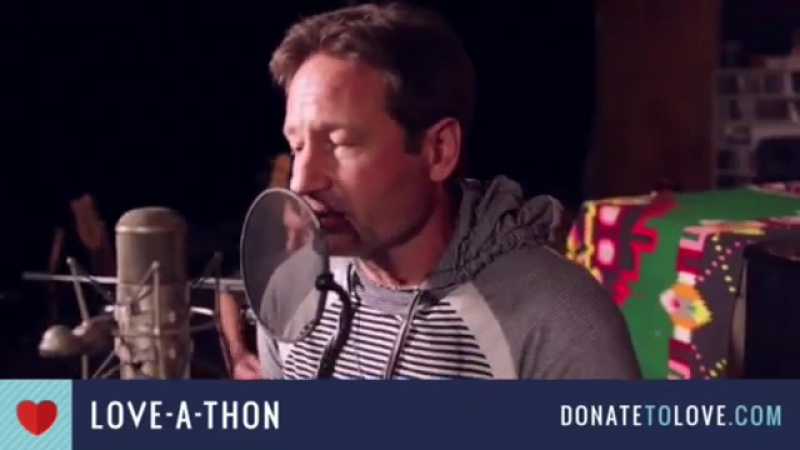 David Duchovny HellorHighwater Love-a-Thon