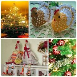 елка в год Красного Петуха
