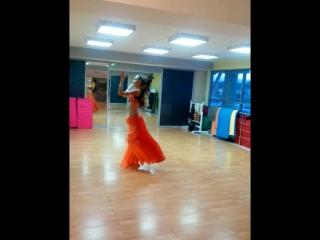 С репетиции! Танцует Даша солистка а снимаю я Лика!