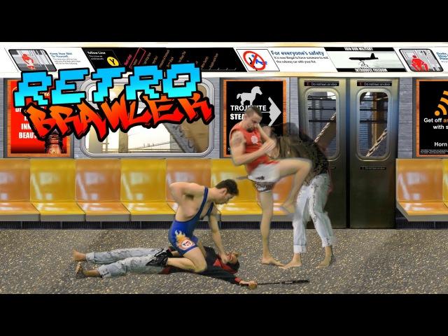 Retro Brawler (2015) - Streets of Rage X Street Fighter homage