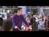 Flash Mob - Gustav Holst - The Planets Jupiter (Berklee Contemporary Symphony Orchestra)