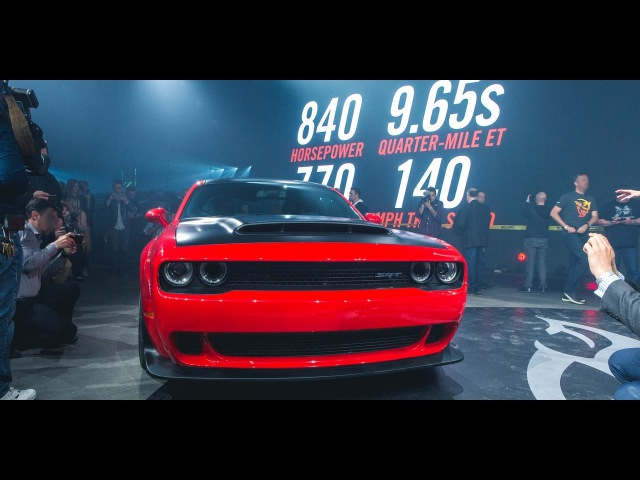 Stage and Launch | Challenger SRT® Demon | Dodge