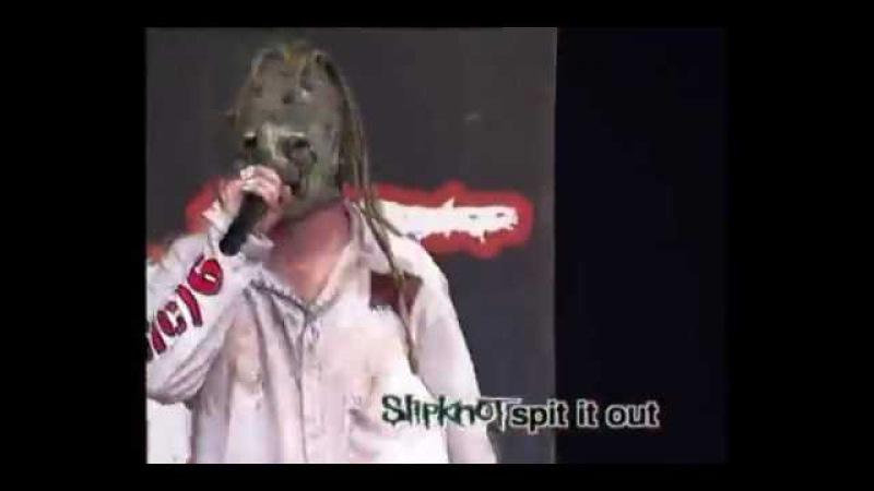 Slipknot - Spit it Out (live Dynamo 2000)