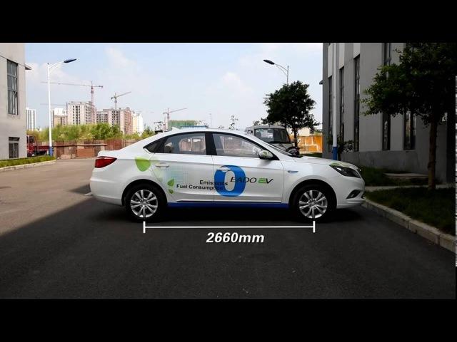 Китайский Электромобиль Changan Eado EV