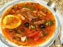 СОЛЯНКА МЯСНАЯ, СБОРНАЯ без колбасы. Любимое блюдо всех мужчин! Solyanka Meat Soup