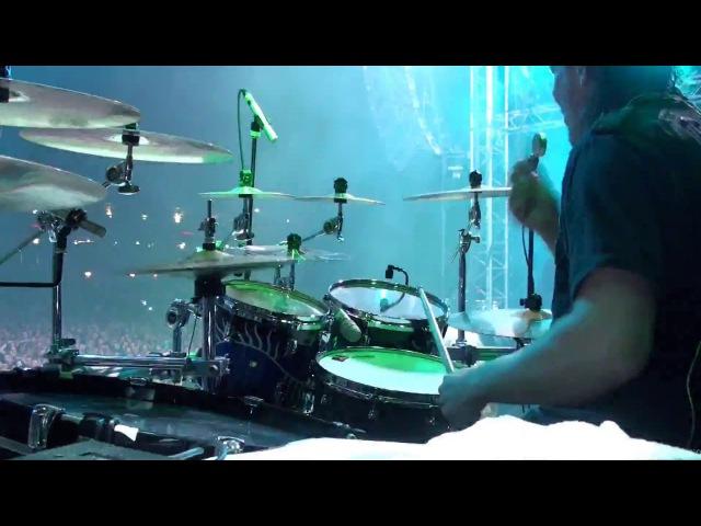 Kai Hahto Nightwish Drumcam 'Wishmaster' / 20.8.2016 Himos,Finland