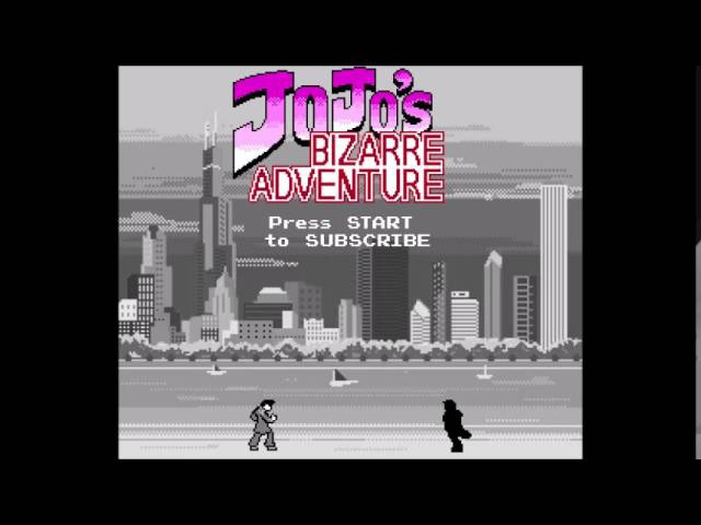JoJo : Diamond is Unbreakable Opening 2 - Chase 8-bit NES Remix