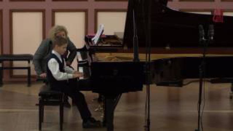 02 12 2016 Mira Marchenko master classes The Chamber hall at the CMS