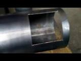 Как сделать твердотопливный котел верхнего горения 1 серия