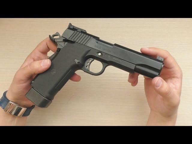 Обзор airsoft пистолета с гильзами от Marushin