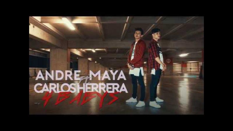 André Maya ft. Carlos Herrera | Cuatro Babys | (Duo Series) [4K]