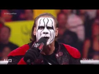 Joker Sting Confronts Vigilante Sting on WWE Raw: Raw, April 27, 2015