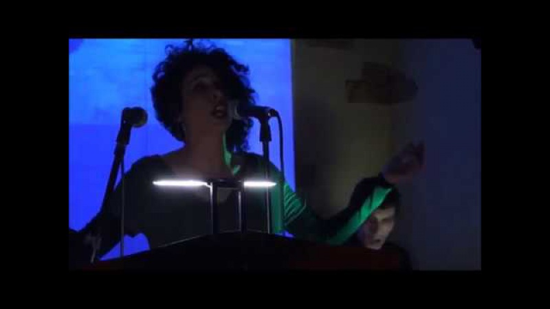 T.S.I.D.M.Z. Carmen D'Onofrio - Live extracts from: Cosmogonie @ AthmoS Café, Milano 15/3/17