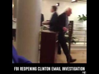 Bernie Sanders Responds to FBI Reopening Email Investigation!