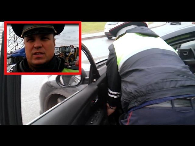 ДПС Беспредел Гаишник ломает автомобиль водителя (Досмотр с пристратием) ПРОДОЛ...