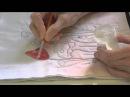 Using Inktense on Fabric Part 2 with Deborah Wirsu