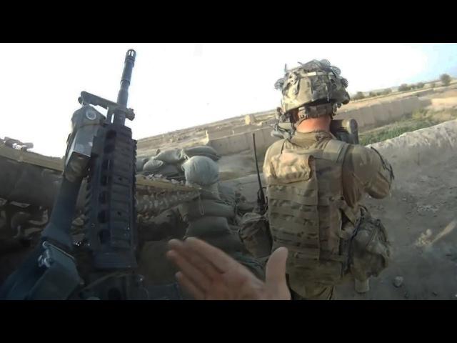 US Soldiers in Afghanistan Helmet Cam Firefight Real Combat Afghanistan War