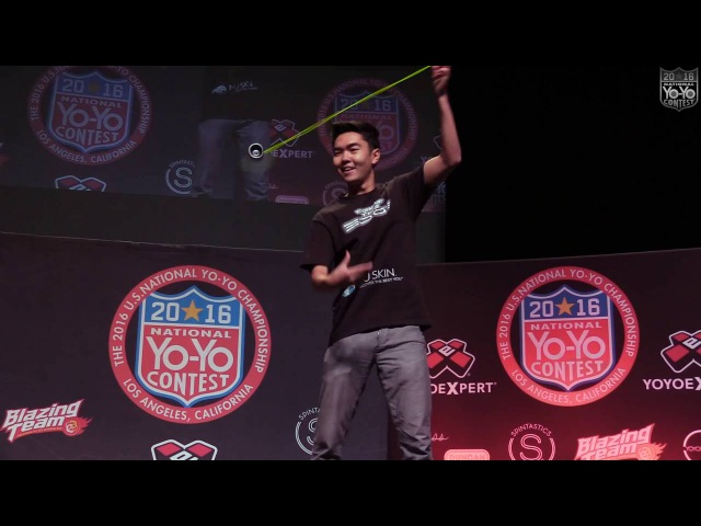 Evan Nagao - 1A Final - 4th Place - 2016 US National Yo-Yo Contest