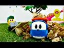 Vidéo en français pour enfants de Léo le camion nettoyage de l'aire de jeux