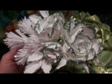 МК Как создать розы для ободка на Новый год! часть №2! Hand Made