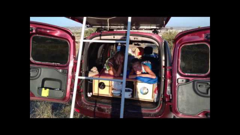 Лада Ларгус Dacia Logan MCV Кемпер бокс Camper Box