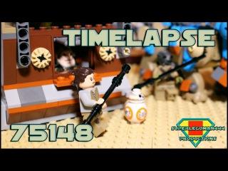 Lego Star Wars 75148 Encounter on Jakku TIMELAPSE