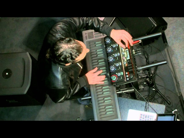 Marco Parisi plays Jimi Hendrixs Little Wing on the Seaboard RISE at Musikmesse 2016