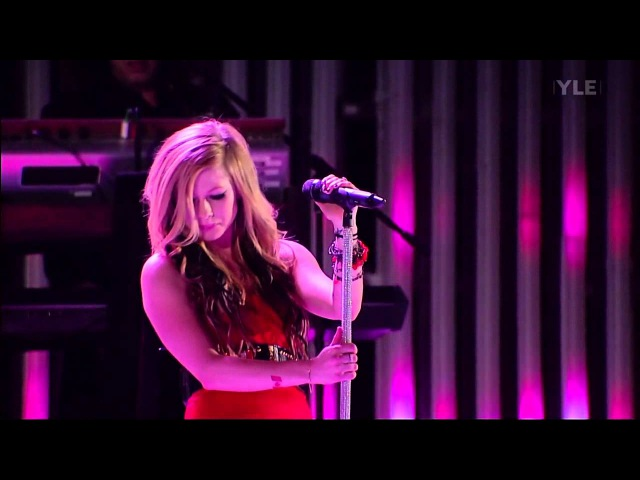 Avril Lavigne - My Happy Ending Girlfriend (Winter Olympics Games - Vancouver 2010)