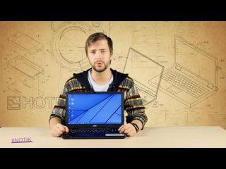 Экспресс-обзор ноутбука Acer Aspire E15 E5-551G