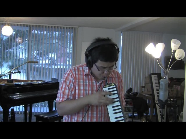 Chopin, Fantasy Impromptu Op.66 On the Melodica. HD