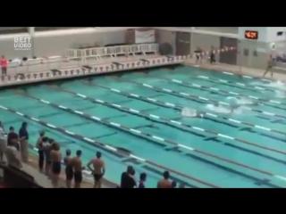 ⚡⚡⚡ Улётное видео! Сын Посейдона, или Гений подводного плавания!