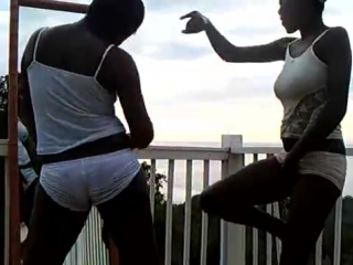 Jamaican girls dance