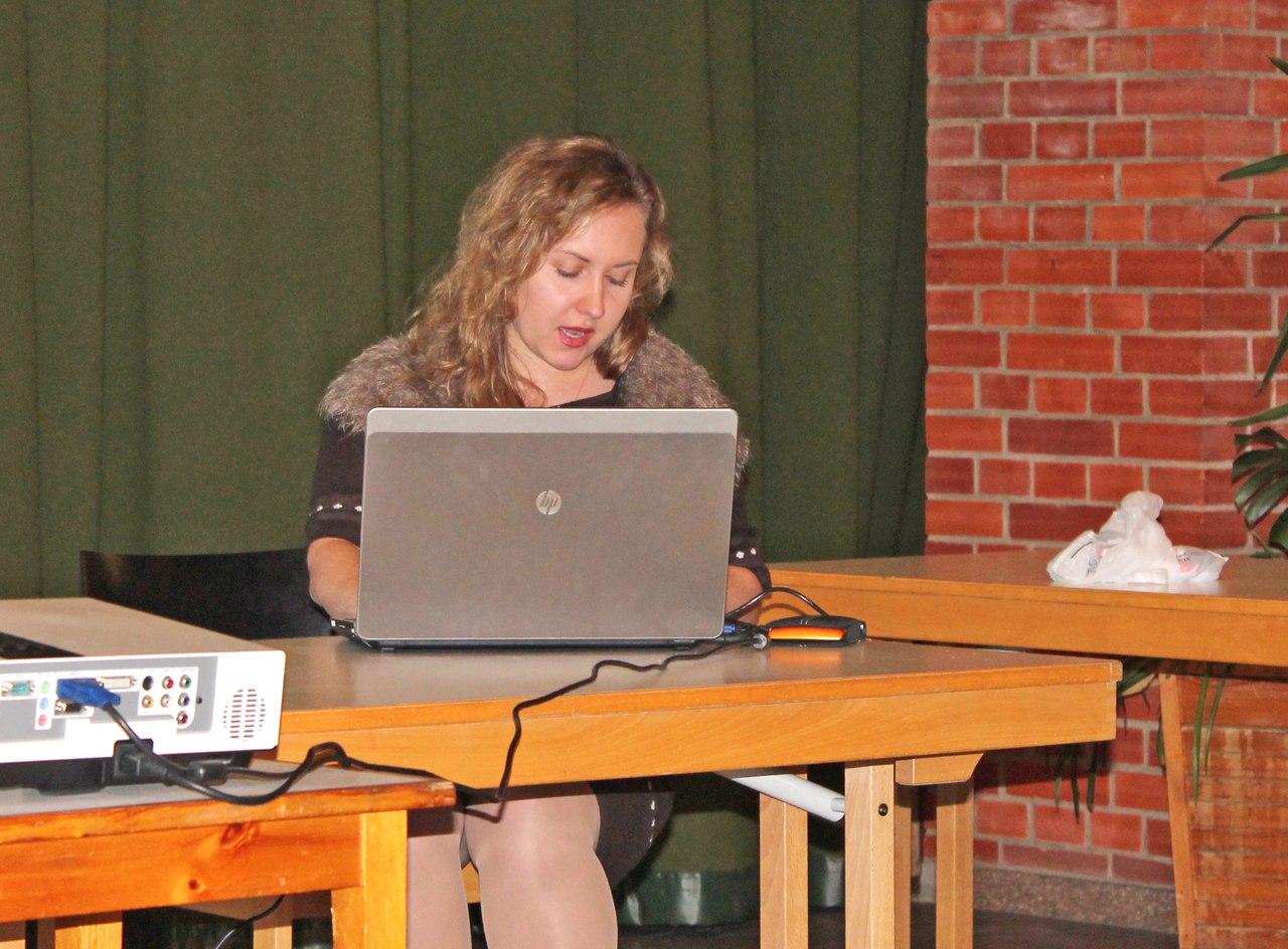 Вера Ткач. Координатор по молодежной работе в Европейской России