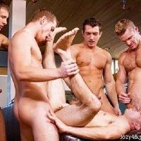 Фото групповой секс геев