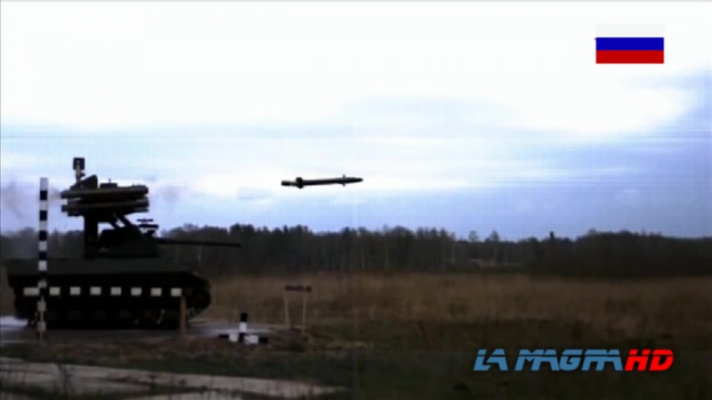 New Russian Combat Robot for Russian Army URAN-9 - УРАН-9. PART-1