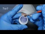 Матовый эффект глянцевым топом Тор3 от WillA-Nails