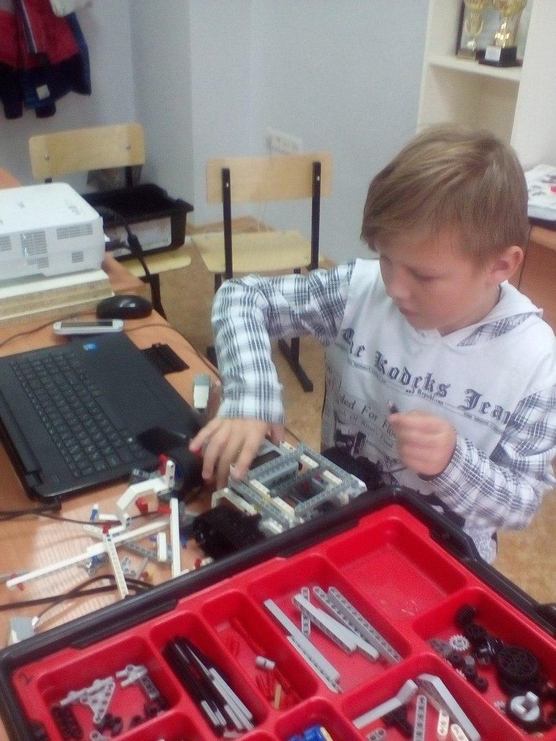 Окончание Осенней школы робототехники