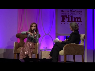 SBIFF 2017 - Isabelle Huppert Discusses Elle Things To Come | Изабель Юппер