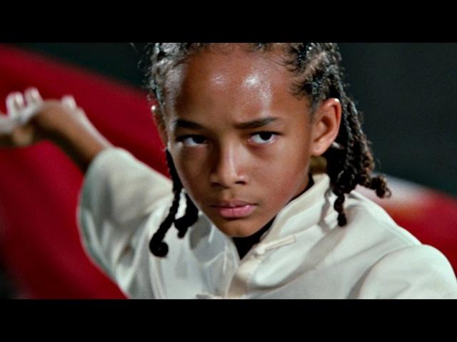 Финальный бой Дре против Чэна Часть 2 Каратэ пацан 2010