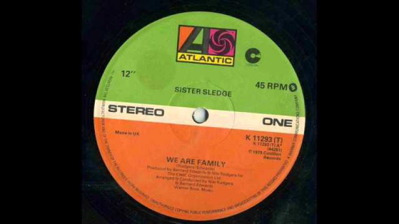 SISTER SLEDGE - We Are Family 12
