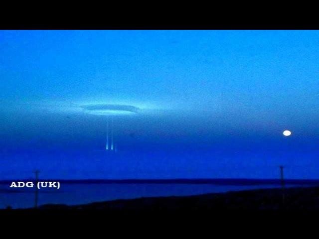 UFO Wormhole Appears Over Arctic Facility 2012 HD