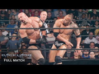 #My1 FULL MATCH  The Rock vs. Goldberg: Backlash 2003 (WWE Network Exclusive)