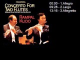 D. Cimarosa - Concerto per 2 flauti e orchestra - RampalKudo - Mozarteum Orchestra Salzburg.