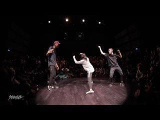 NBA Dance Battle | 1/2 | Rubix Kefton vs Dypa Waydi