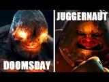 Думсдей (Диси) vs Джаггернаут (Марвел) / Doomsday (DC) vs Juggernaut (Marvel) - Кто кого? [bezdarno]