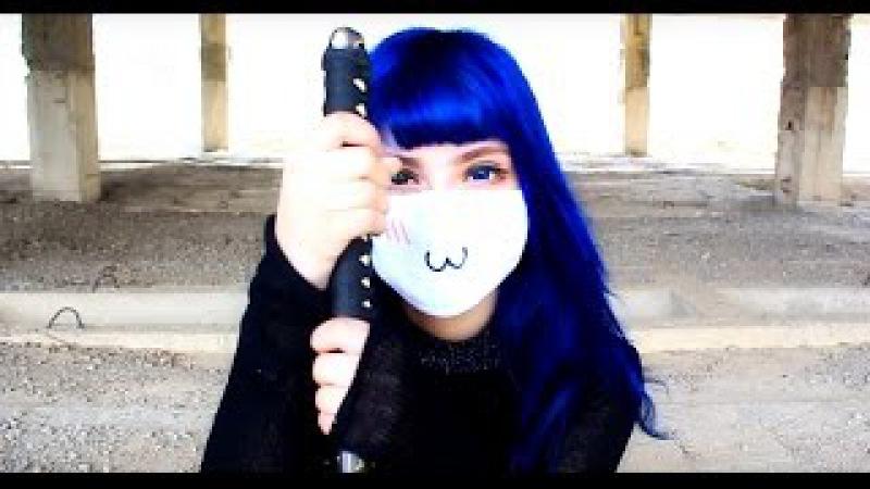 Anime Rap - H.O.T.D.(High school of the dead)| Рэп на 5 языках |Maffy Chan|(Школа мертвецов)