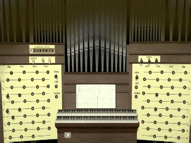SynthEdit Organ Festive pieces